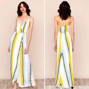 Yumi Kim rush hour wrap maxi dress S